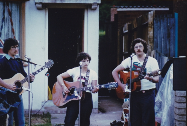 Trilogy at Jubilee Day Street Party 1977