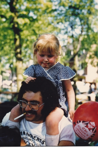 Jubilee Day 1977 - Kings Norton Green with Jenny Bird