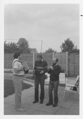 Tony Burt, John Sullivan, John Davis