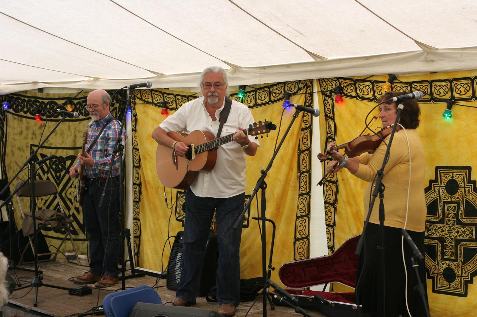 Tony Burt Band Bromyard 2014 Art Centre