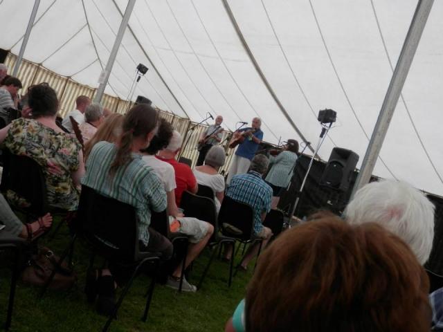 Tony Burt Band Bromsgrove Folk Festival 2014